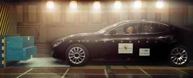 Siguranta nu este un lux: filmul Euro NCAP cu testul lui Maserati Ghibli