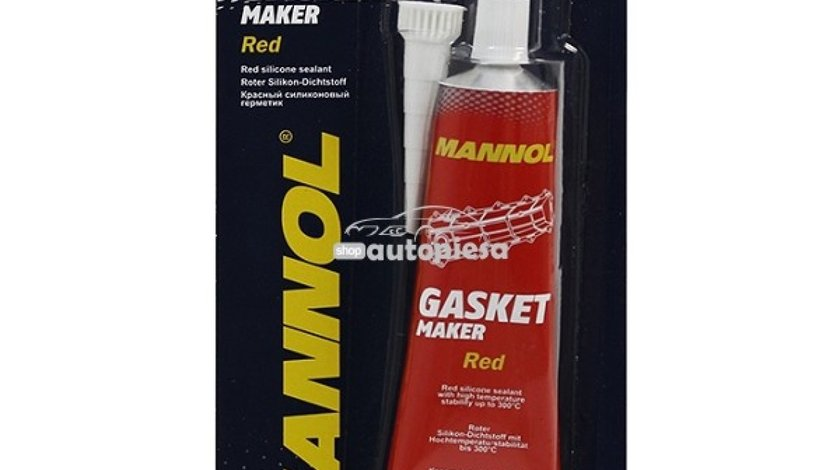 Silicon etansare garnituri rosu MANNOL 85 gr 23432 piesa NOUA