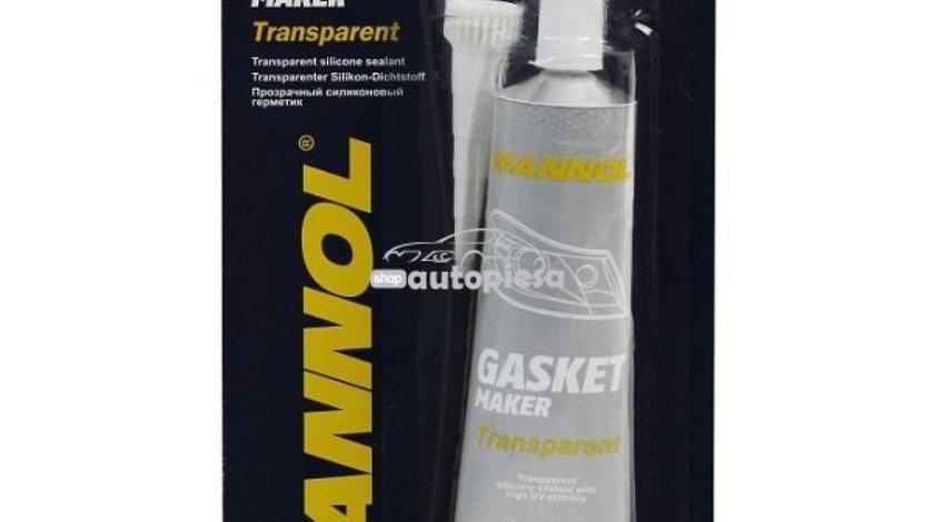 Silicon etansare garnituri transparent MANNOL 85 gr 22371 - produs NOU