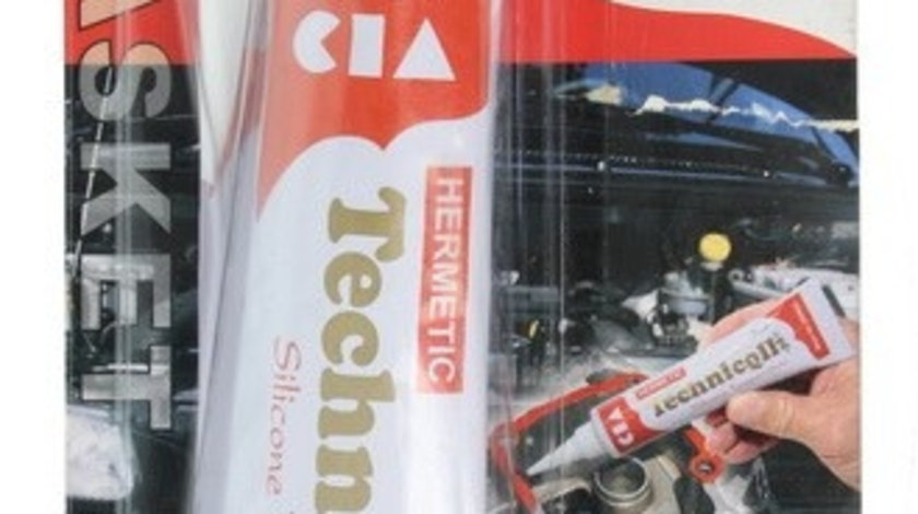 Silicon rosu pentru motor, Technicqll 70ml cod intern: TE S-280 70 ML