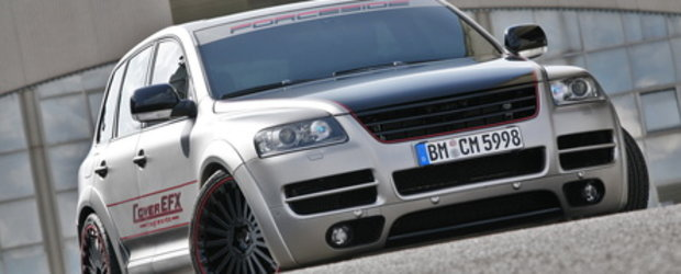 Silver bullet: VW Touareg W12 by CoverEFX