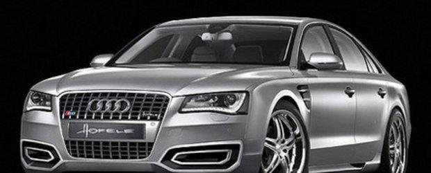 Silver Story: Audi A8 by Hofele Design