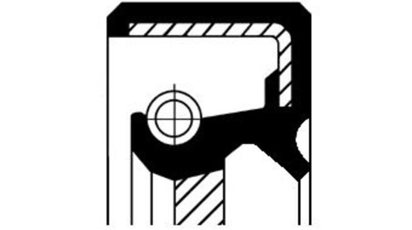 Simenring diferential dreapta (35x54x9 21,5) TOYOTA AURIS, AVENSIS, CELICA, COROLLA, COROLLA VERSO, MR 2 III, RAV 4 II, YARIS 1.4D 1.6 1.8 intre 1999-2012