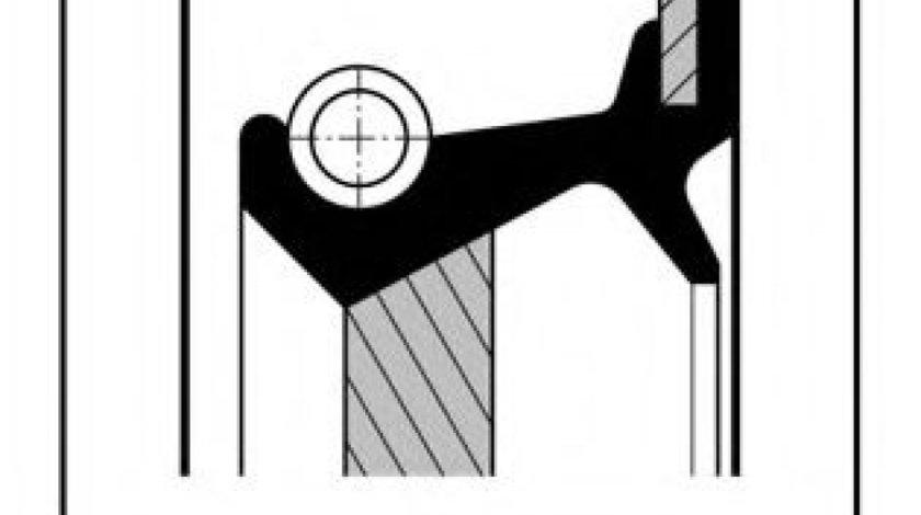 Simering, arbore cotit BMW Seria 3 (E46) (1998 - 2005) ELRING 702.994 piesa NOUA
