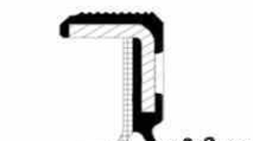 Simering arbore cotit FORD S-MAX WA6 CORTECO 19035345B