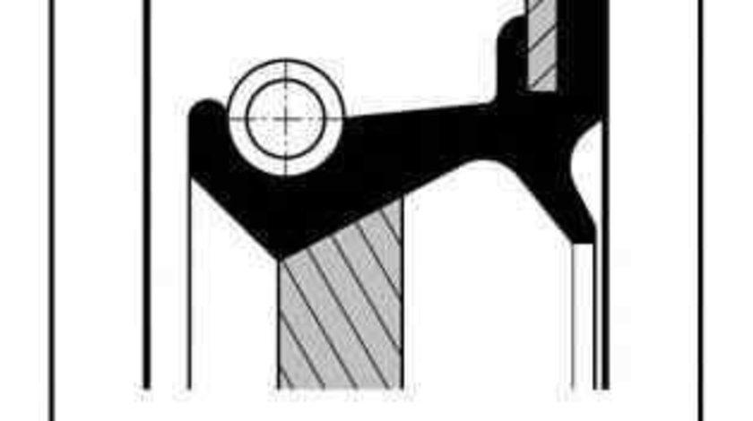 Simering, arbore cotit RENAULT CLIO I (B/C57_, 5/357_) Producator ELRING 711.720