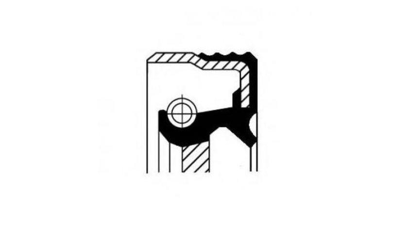 Simering arbore cotit / vibrochen Daewoo Espero (1991-1999) [KLEJ] 083196501