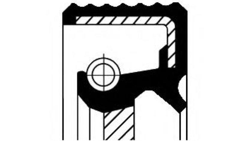 Simering, ax cu came MAZDA 3 Limuzina (BK) (1999 - 2009) CORTECO 20029115B produs NOU