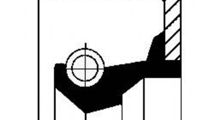 Simering, butuc roata AUDI A3 (8P1) (2003 - 2012) CORTECO 19037295B piesa NOUA