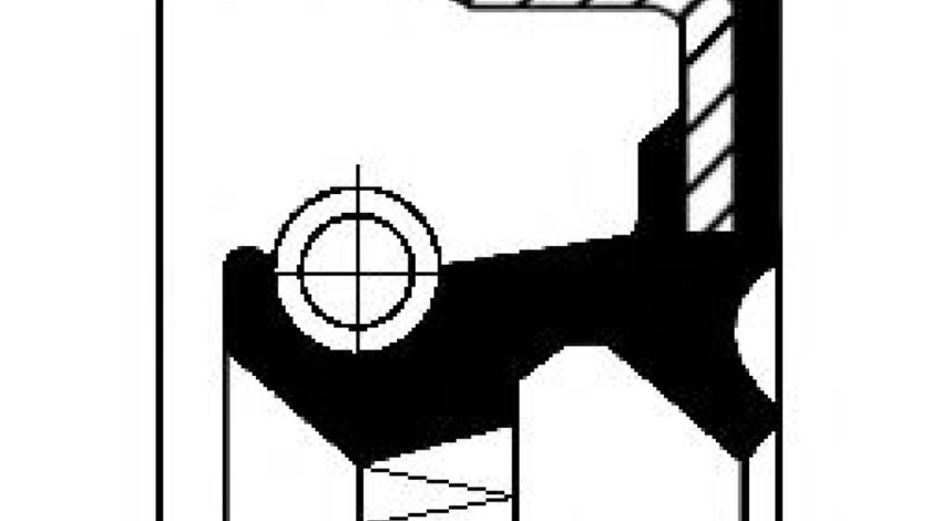 Simering, butuc roata AUDI A4 Avant (8D5, B5) (1994 - 2001) CORTECO 01019205B produs NOU