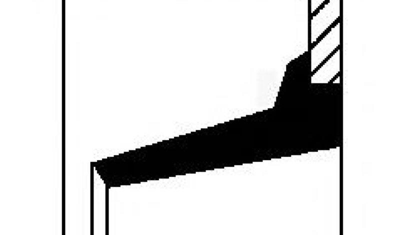 Simering, butuc roata RENAULT MASTER II caroserie (FD) (1998 - 2010) CORTECO 12017138B piesa NOUA