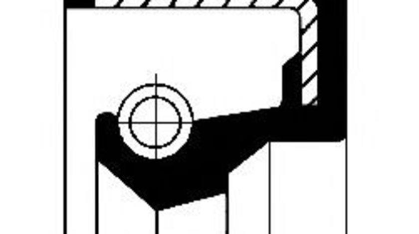 Simering, butuc roata SUZUKI GRAND VITARA I (FT) (1998 - 2005) CORTECO 19027876B piesa NOUA