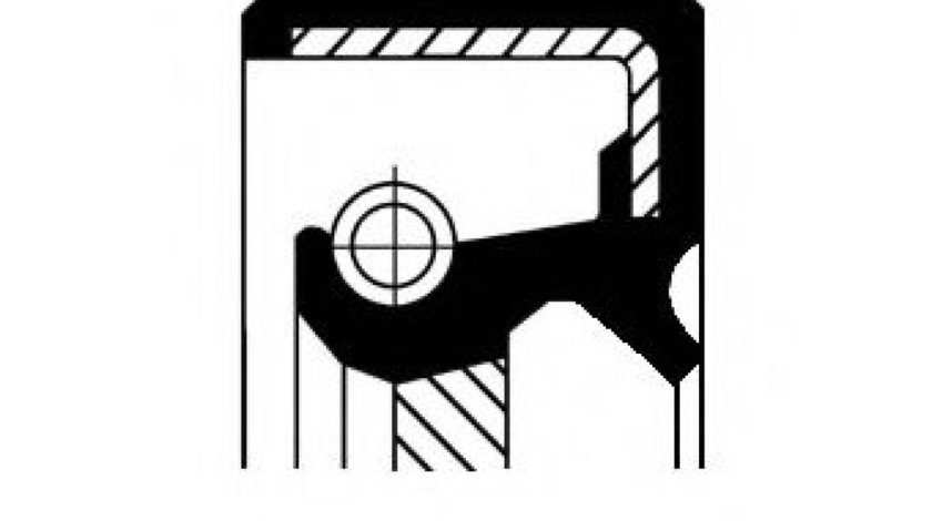 Simering, cutie de transfer MITSUBISHI OUTLANDER I (CU) (2001 - 2006) CORTECO 19034968B piesa NOUA