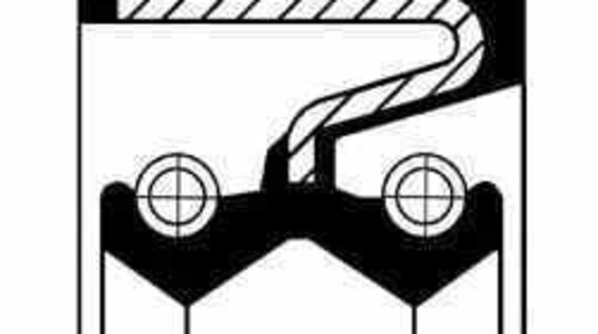 simering cutie de transfer NISSAN TERRANO I WD21 CORTECO 19027897B