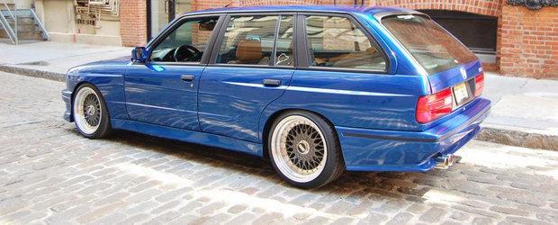 Singurul BMW M3 E30 Touring din lume este de vanzare. AFLA CAT COSTA!