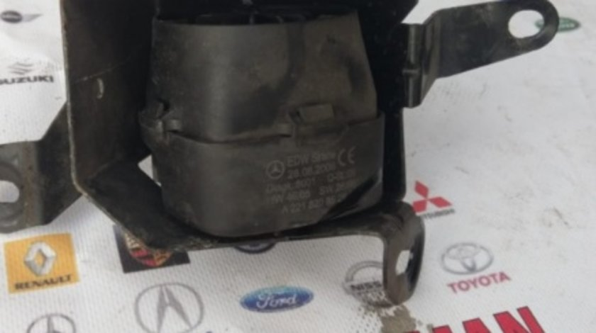 Sirena alarma Mercedes s class s320 w221 motor 3.0CDI om642 dezmembrez dezmembrari