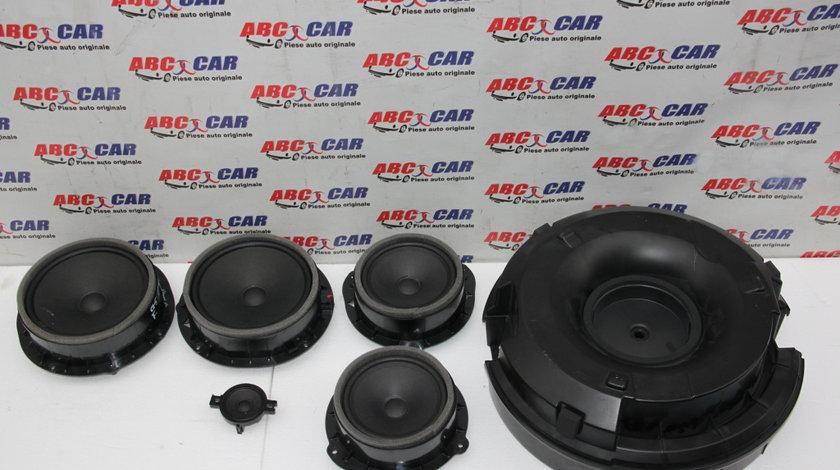 Sistem audio Bang & Olufsen Audi Q5 FY cod: 80A035415 / 80A035411 / 80A035382 / 4M0035454A 2017-prezent