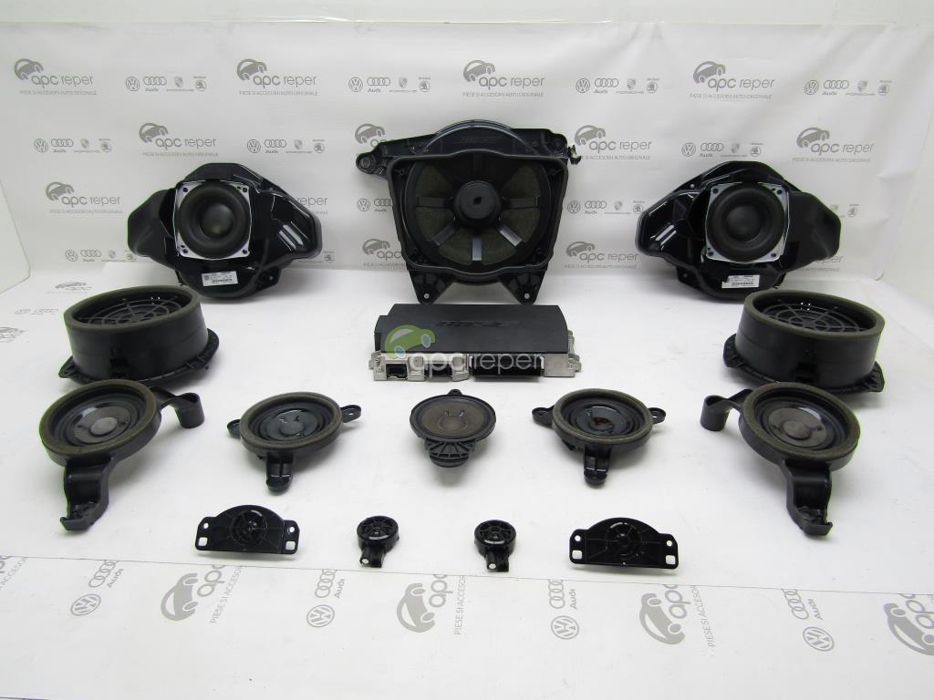 Sistem audio Bose complet - Audi A8 4H