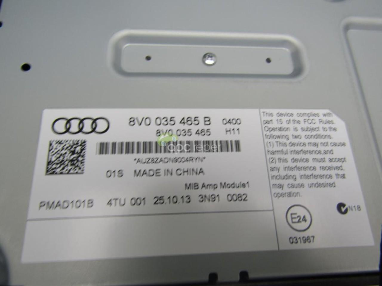 Sistem Bang & Olufsen complet Audi A3 8V Sportback