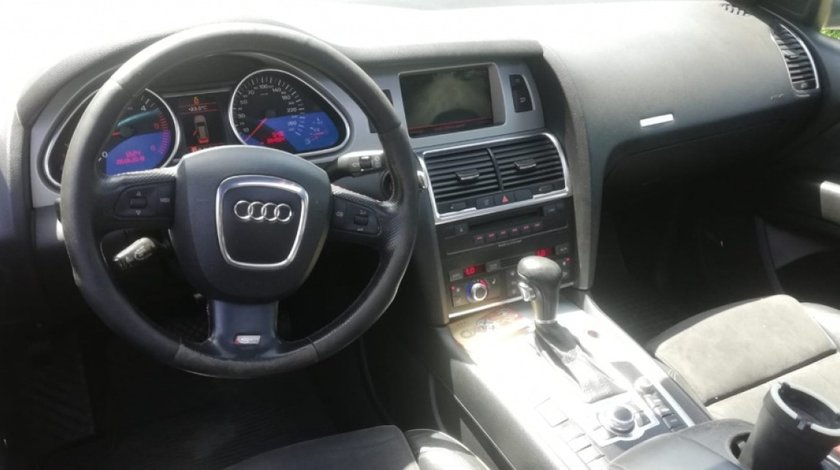 Sistem complet camera marsarier modul calculator + cablaj Audi Q7 4l , vw touareg