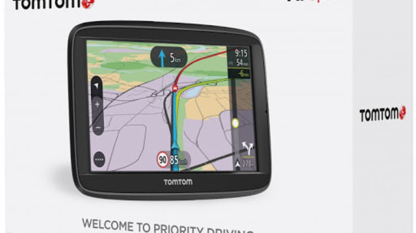 "Sistem de navigatie TomTom VIA 52 GPS Carkit Bluetooth Diagonala 5"" Harti Full Europa Radare Fixe"