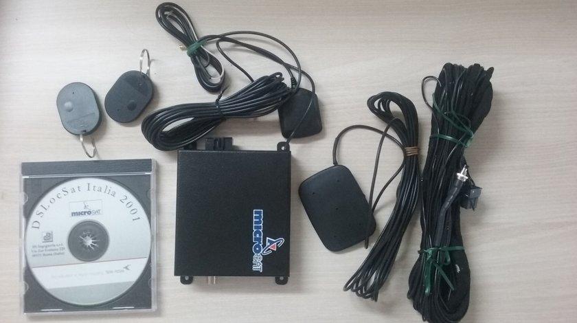 Sistem localizare GPS si blocare masina cu integrare pentru Renault Scenic Microsat TT3 Kft Auto