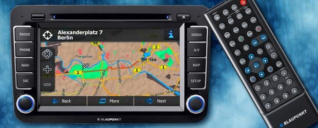 Sistem multimedia Blaupunkt pentru gama Volkswagen, Skoda si Seat