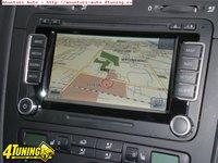 Sistem navigatie Skoda YETI Columbus RNS510 ORIGINAL cu touchscreen harata Romania la nivel de strada