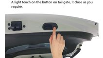 Sistem ridicare si inchidere portbagaj din buton s...