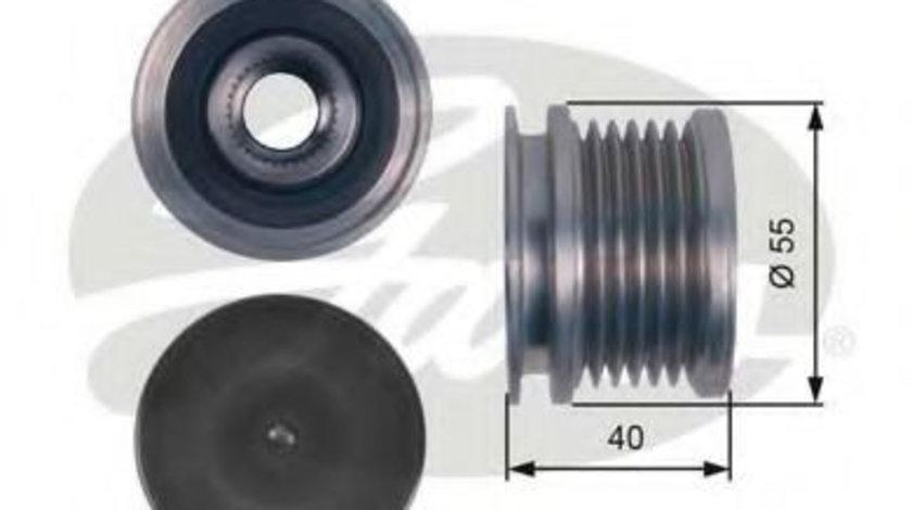 Sistem roata libera, generator AUDI A4 Allroad (8KH, B8) (2009 - 2016) GATES OAP7114 piesa NOUA