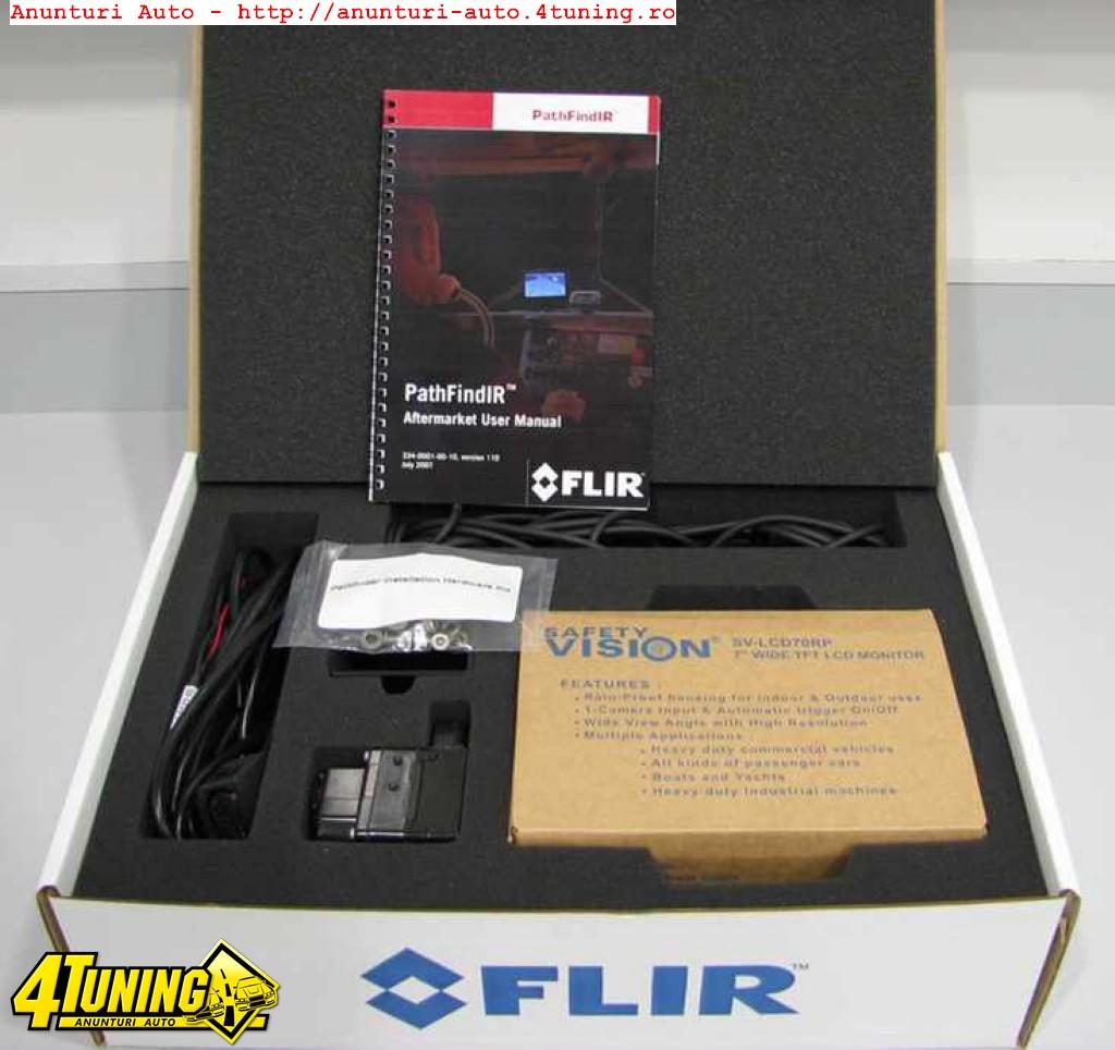 Sistem termal night vision cu camera video pentru auto FLIR Systems FLIR PathFindIR