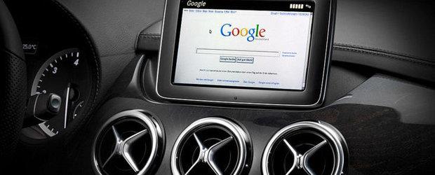 Sistemele de navigatie Mercedes vor fi realizate in parteneriat cu Google