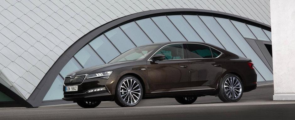 Skoda a lansat noul Superb Facelift si in Romania. Uite aici cu cat se vinde limuzina ceha