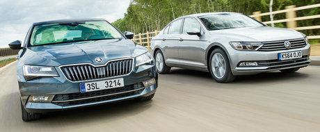 Skoda baga frica in Volkswagen. Cehii obligati sa-si mute productia in Germania si sa plateasca mai mult pentru licentiere