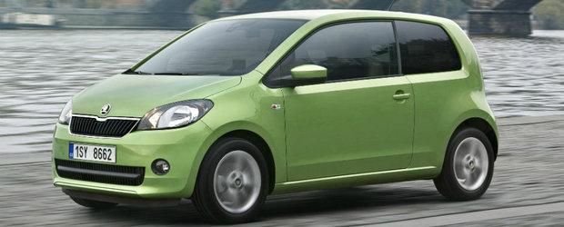Skoda Citigo nu primeste un facelift. In schimb, se multumeste cu cateva upgrade-uri