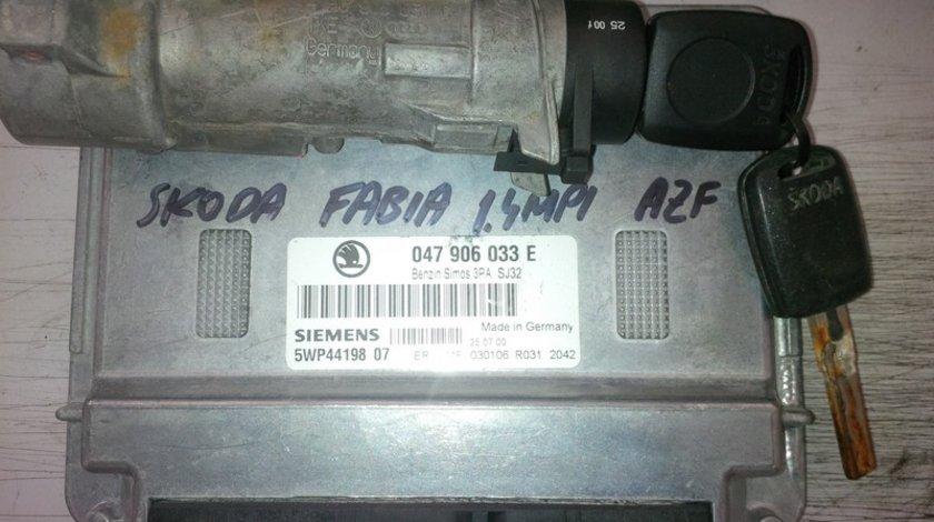 skoda fabia 1.4mpi azf 047906033E SIEMENS
