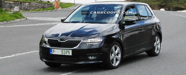 Skoda Fabia 2015: primele poze cu masina fara camuflaj
