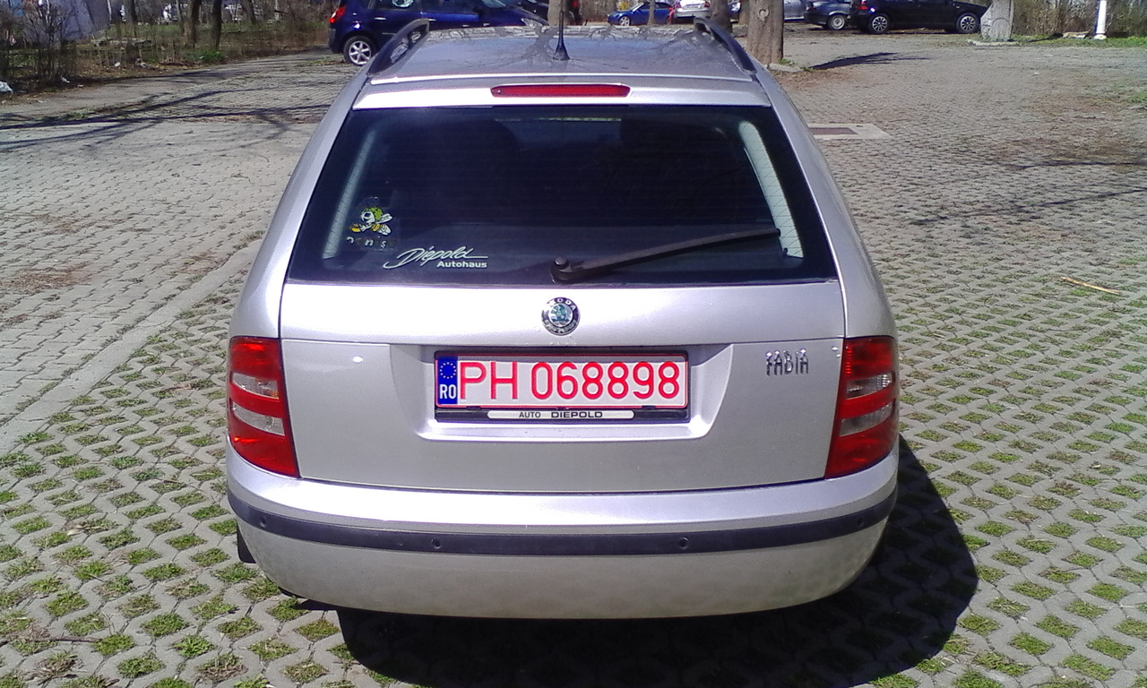 Skoda Fabia Break-1.4TDI-Elegance 2004