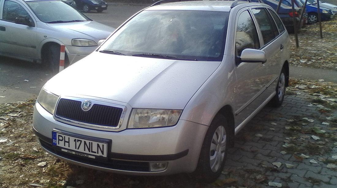 Skoda Fabia Elegance-1.4Tdi-Km.REALI 2004