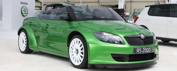Skoda Fabia RS 2000 dezvaluita la Worthersee - dramatic de impresionanta!