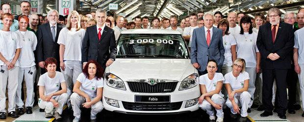 Skoda Fabia: trei milioane de succese