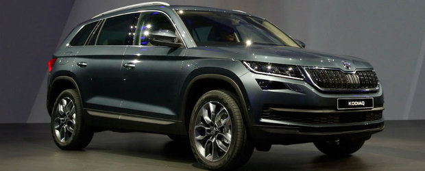 Skoda Kodiaq a fost lansat la Salonul Auto de la Paris. Uite tot ce trebuie sa stii despre primul SUV al cehilor
