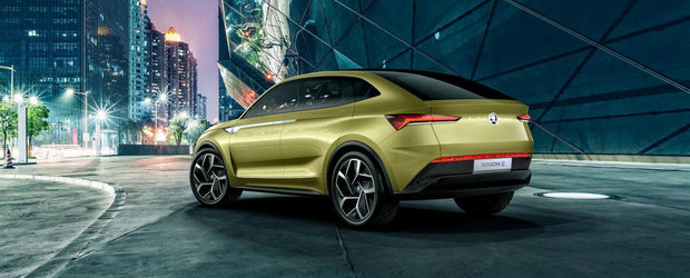 Skoda lanseaza in Europa primul SUV Coupe pentru 'popor'. Cand si unde il poti studia pentru prima oara de aproape