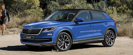 Skoda lucreaza deja la cel mai mic SUV din gama. Se numeste Polar si ar urma sa arate asa