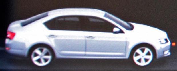Skoda Octavia 3 - Prima imagine oficiala!