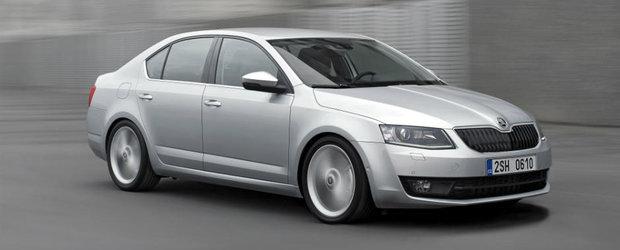 Skoda Octavia facelift vine in 2017 cu o fata noua si mai multa tehnologie