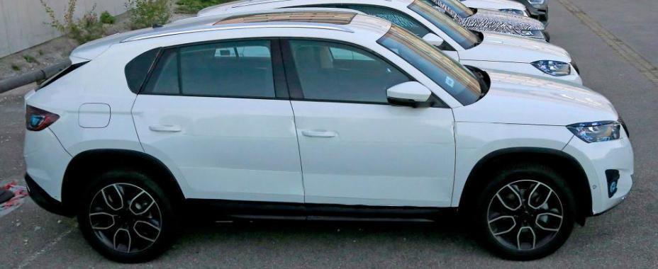 Skoda publica primele poze cu cel mai ieftin SUV Coupe din prezent. Cum arata, de fapt, Kodiaq GT