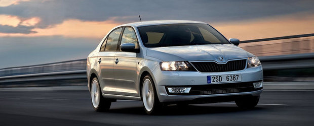 Skoda Rapid a debutat in Romania. Afla cat costa!