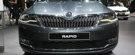 Skoda Rapid facelift, sau o alternativa buna la farurile nu prea reusite ale Octaviei