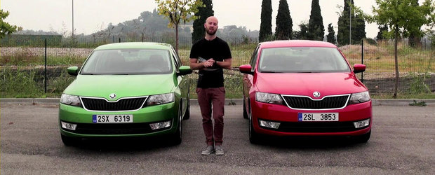 Skoda Rapid Sedan vs Skoda Rapid Spaceback: Care este alegerea ideala?